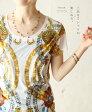 【再入荷♪4月16日12時&22時より】「french」上品なTシャツの楽しみ方。トップス