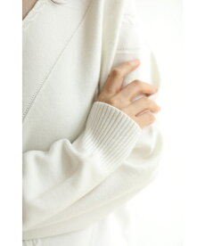 ▼▼(S~L対応)「frenchpave」首元シアーな斜線ラインニットトップス10月18日22時販売新作