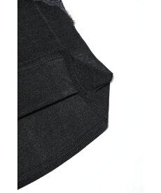 ▼▼「FRENCHPAVE」(黒)ノースリーブのインナーにも最適。伸びやかレースカットソートップス4月5日22時販売新作