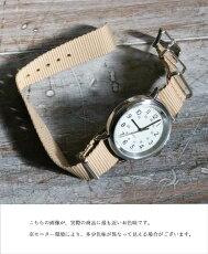(ベージュ×ホワイト)「mori」あなたはどの色で時を刻みますか?〜シンプル腕時計シリーズ〜3月13日22時販売新作