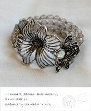 「mori」煌めく異国のお花ブレスレット3月16日22時販売新作