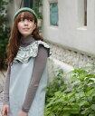 【再入荷♪8月26日12時&22時より】cawaiiオリジナル「mori」ふわっと襟。刺繍とデニム。ワンピース