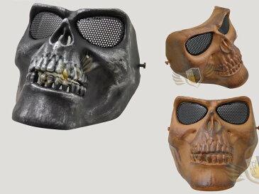 サバゲー フェイスマスク スカル サバイバルゲーム 被弾防止マスク SWAT