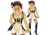 ◆送料540円◆即納◆コスプレ パーティー 仮装 女海賊 カリブ 盗賊 ワンピース ハロウィン コスチューム 仮装 華やか マスカレード
