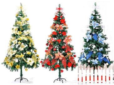 クリスマスツオーナメントセット 150から180センチ 北欧風 クリスマス ツリー オーナメントのみ