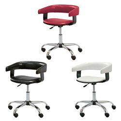 【送料無料】デスクチェアデスクチェアーオフィスチェアオフィスチェアーキャスター肘付アームチェアアメリカンワイルド回転おしゃれレッドブラックホワイト赤白黒昇降チェアーチェアー椅子イスいす
