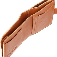 cea4dd9e142e ... イルビゾンテILBISONTE2018年秋冬新作財布がま口レディースメンズミニ財布二つ折り財布キャメルC1033P145