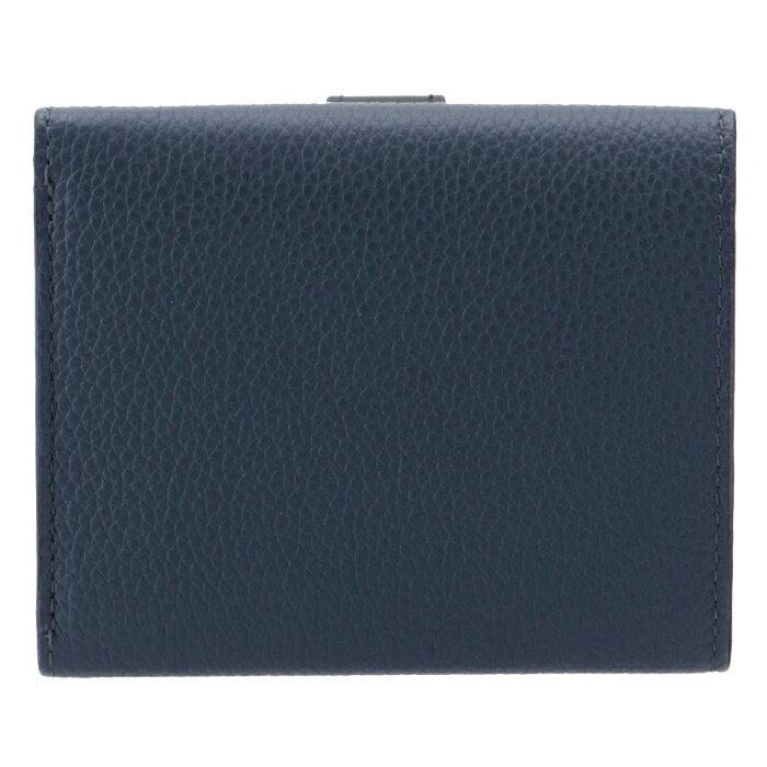 ロエベLOEWE2020年秋冬新作財布三つ折りミニ財布トライフォールドウォレットブルー系12412AB4100513932