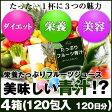 めっちゃたっぷりフルーツ青汁 4箱(120包 約120日分)