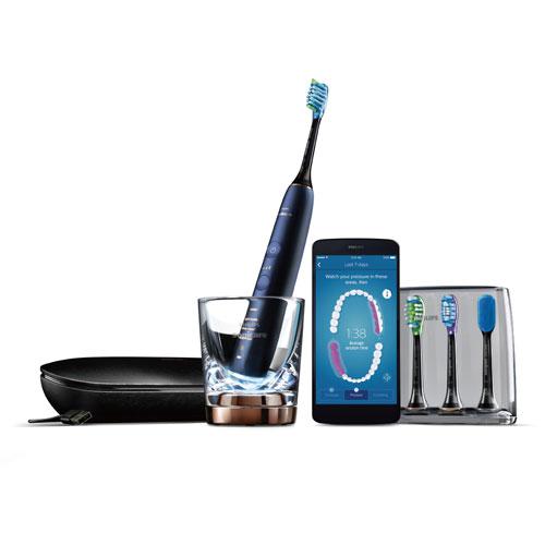 フィリップス PHILIPS ソニッケアー ダイヤモンドクリーンスマート 音波式電動歯ブラシ HX9954/55(ルナーブルー) HX995455