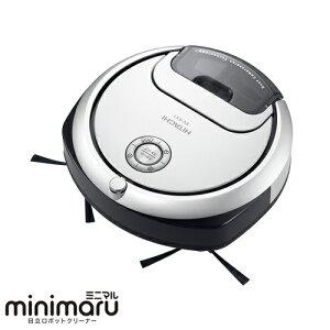 日立minimaru(ミニマル)_ロボット掃除機_RV-EX1-W(パールホワイト)