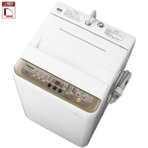 パナソニックNA-F60PB11-T(ブラウン)_全自動洗濯機_上開き_洗濯6kg/乾燥2kg