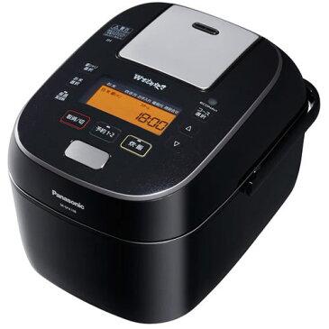 パナソニック Panasonic SR-SPA108-K(ブラック) Wおどり炊き スチーム&可変圧力IHジャー炊飯器 5.5合 SRSPA108K