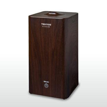 テクノス EL-C016-DB(ダークブラウン) 超音波加湿器 木造3畳/プレハブ6畳