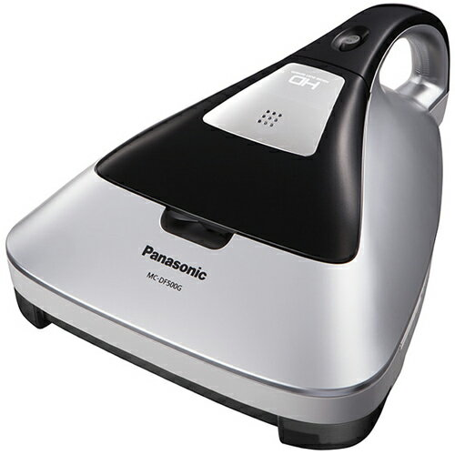 【長期保証付】パナソニック Panasonic MC-DF500G-S(シルバー) 紙パック式ふとん掃除機 MCDF500GS