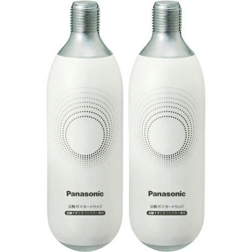 パナソニック Panasonic EH-2S41 炭酸イオンエフェクター専用 炭酸ガスカートリッジ 2本入 EH2S41