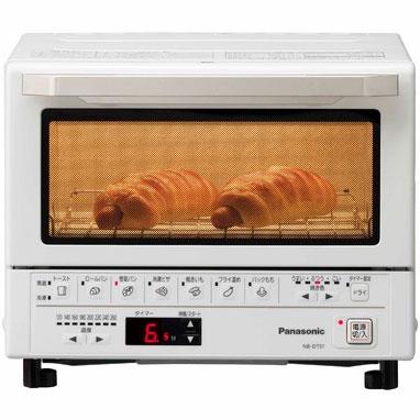 【長期保証付】パナソニック Panasonic NB-DT51-W(ホワイト) コンパクトオーブン 1300W NBDT51