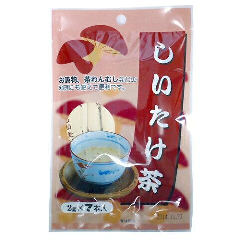 日東食品工業 しいたけ茶 7パック