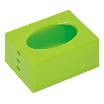 ポケットティッシュケース グリーン