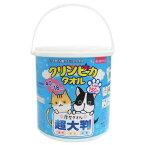 ペット用大判厚手ウェットティッシュ『クリンピカ タオル』 本体(150枚入)