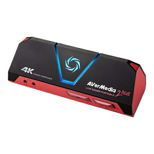 【取寄品】AVer Media ビデオキャプチャー Live Gamer Portable 2 PLUS AVT-C878 PLUS 【送料無料(一部地域除く)】