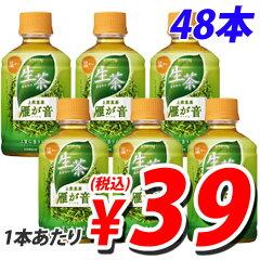 キリン ホット生茶 雁が音 280ml×48本【合計¥1900以上送料無料!】