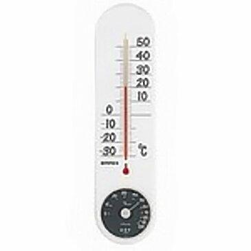 【取寄品】エンペックス 温湿度計 TG-6621 ホワイト