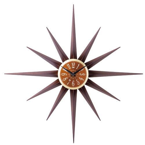 掛け時計 AGULHA -アグリア- ブラウン CL-7541BN【送料無料(一部地域除く)】