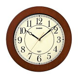 カシオ 木枠掛時計 IQ-131-5JF ブラウン