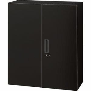 Garage PLUS システム収納 両開き保管庫 NS-105A 黒【組立設置付】 【代引不可】:よろずやマルシェ