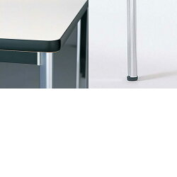 生興テーブルKTD型会議用テーブルW1800×D900×H7004本脚タイプ棚付KTD-1890I