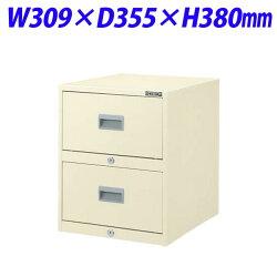 ライオン事務器メディアキャビネットW309×D355×H380mmアイボリーCD-24777-69