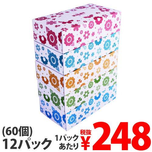 ボックスティッシュ 150組(150W) 12パック(60箱)