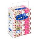 ユニバーサル・ペーパー サラサ(sarasa) ハーフサイズ ソフトパック ティッシュ 180組 1パック(10個)