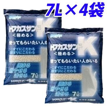 猫砂 ペグテック トフカスサンドK 7L 4袋