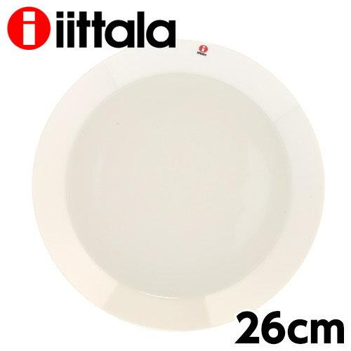 iittala イッタラ Teema ティーマ プレート 26cm ホワイト