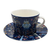 イッタラ iittala タイカ TAIKA コーヒーカプチーノ カップ&ソーサー ブルー