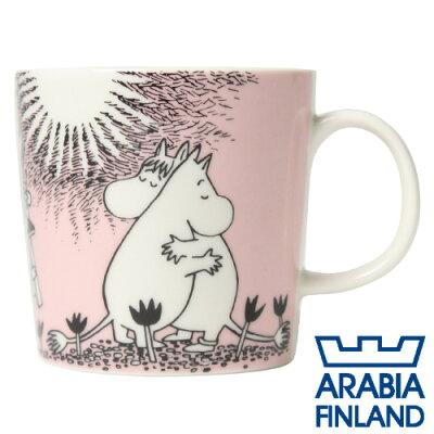 42%OFF! 合計¥1900以上送料無料!アラビア(Arabia) Moomin ムーミンマグ ピンク Love 250ml...