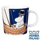 Arabia アラビア ムーミン Moomin マグ ムーミンパパ ディープブルー 300ml マグカップ