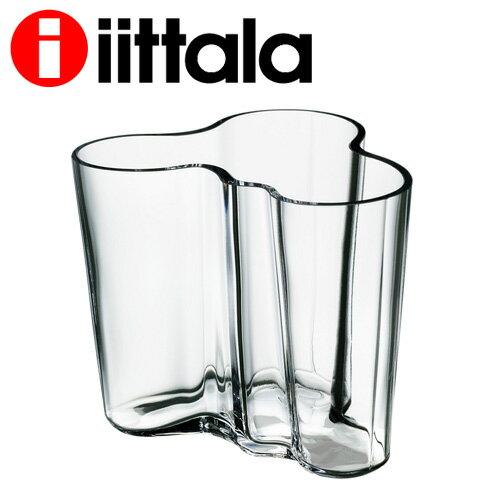 iittala イッタラ Alvar Aalto アルヴァアアルト ベース 95mm クリア 花瓶『送料無料(一部地域除く)』