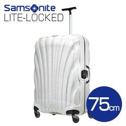 サムソナイトLite-LockedSpinner01V-002オフホワイト75cm