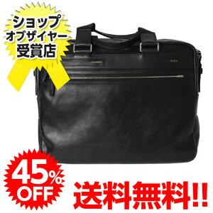 45%OFF! 送料無料!TUMI Laredo Leather 68116 ラレード・スリム・ブリーフ ブラック 【smtb...