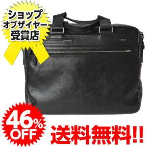 46%OFF! 送料無料!TUMI Laredo Leather 68116 ラレード・スリム・ブリーフ ブラック 【smtb...