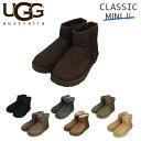 UGG アグ クラシックミニ II ムートンブーツ ウィメンズ 1016222 Classic Mini WOMENS レディース ショートブーツ『送料無料(一部地域除く)』