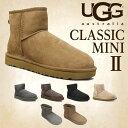 UGG アグ クラシックミニ II ムートンブーツ ウィメンズ1016222 Classic Mini WOMENS レディース ショートブーツ 【送料無料(一部地域除く)】