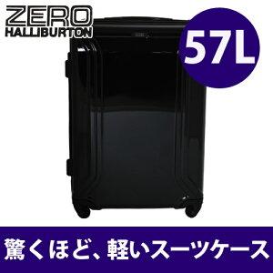 51%OFF!! 送料無料!ZERO HALLIBURTON ZERO AIR ZRA-X スーツケース 57L ZX223 ブラック【...
