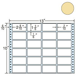 東洋印刷MT12GPタックシール(連続ラベル)カラータイプピンク1000折