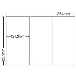 東洋印刷E3GFラベルシール再剥離タイプB4100シート×5箱