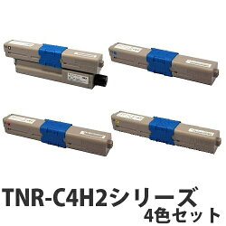 OKITNR-C4H2シリーズリサイクルトナーカートリッジ4色セット