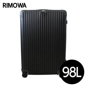 リモワの大人気TOPASが進化したステイルタイプが登場!RIMOWA リモワ トパーズ 98L ブラック TO...
